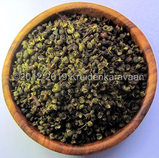 Szechuanpeper-groen-Sichuan-Chinese bergpeper