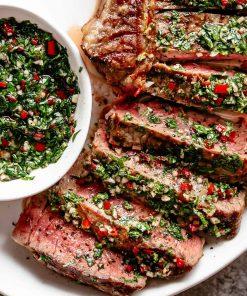 Chimichurri-steak