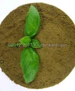 Basilicum gemalen - groene kruiden online kopen en bestellen