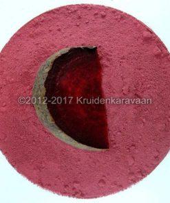 Bietenpoeder-rode bieten gedroogd en gemalen online kopen
