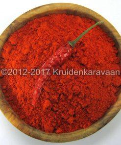 Chilies gemalen extra hot - gemalen hete chilipepers online kopen