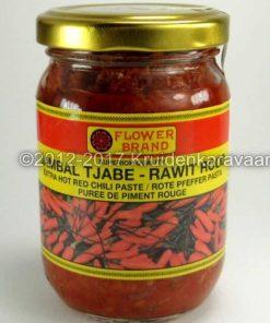 Sambal Tjabe Rawit - extra hete rode rawit chili pasta online kopen