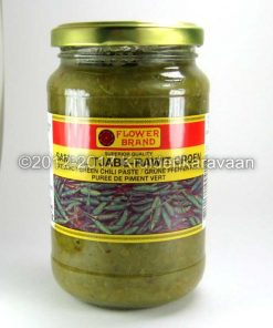 Sambal Groene Rawit - groene tjabe rawit chilipasta online kopen