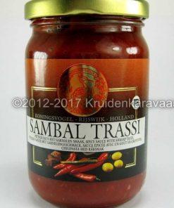 Sambal Trassi - Koningsvogel sambal met garnalensmaak online kopen