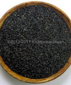 Sesamzaad zwart - zwarte sesamzaadjes kopen bij kruidenkaravaan