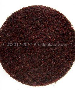 Sumak - zure purperrode grof gemalen besjes van topkwaliteit online kopen
