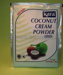 Kokosnoot cremepoeder - instant cocosroom kopen