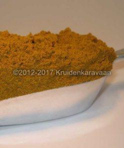 Currypoeder mild 200 gram - zachte kerrie ideaal voor groentecurry