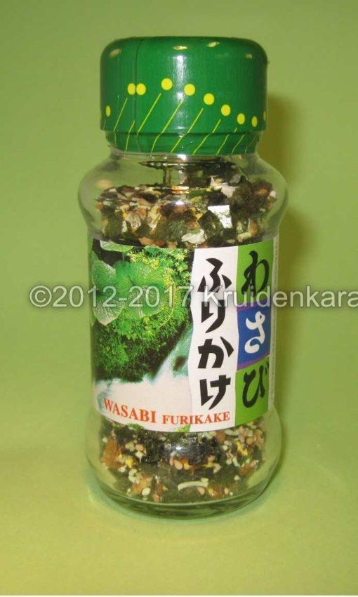 Wasabi furikake - Japanse kruiden en specerijen kopen bij kruidenkaravaan