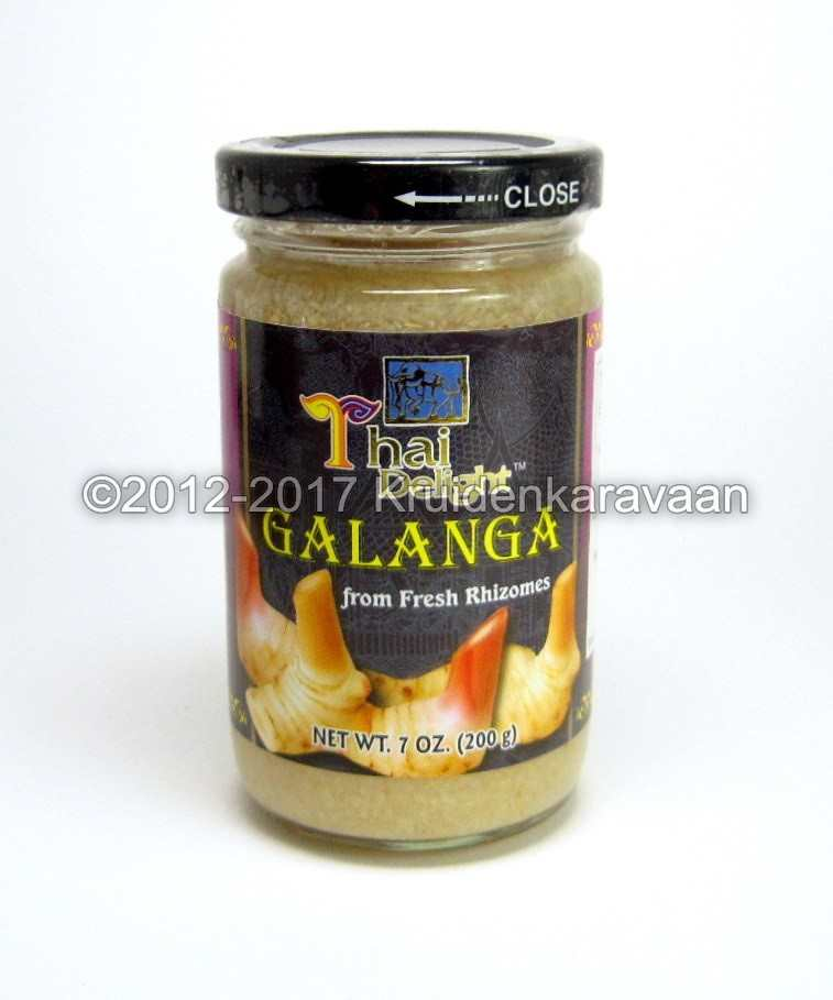 Laos wortel pasta - vers gehakte galangawortel online kopen