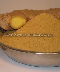 Gemberwortel (djahé) gemalen - specerijen online kopen en bestellen