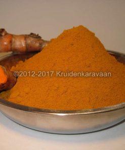 Kurkuma gemalen - gemalen Indiase geelwortel online kopen