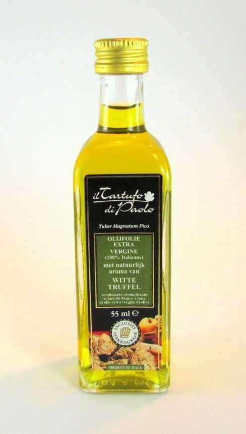Extra vergine olijfolie met natuurlijk aroma van witte truffel online kopen