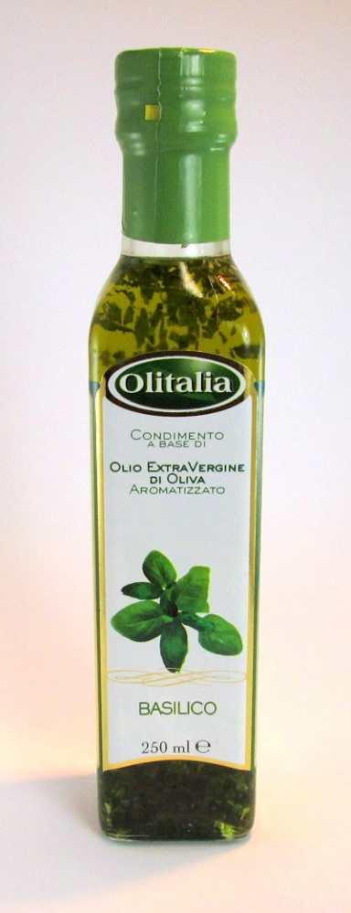 Extra Vierge olijfolie met verse basilicum online kopen