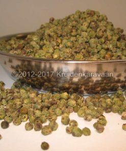 Peperbes groen heel - groene peperbollen online kopen bij Kruidenkaravaan