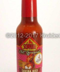 Habanero Red Savina chilisaus - hete exotische rode Habanero chilisaus online kopen