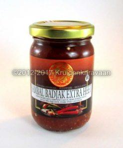 Sambal - sambal Badjak extra heet van Koningsvogel online kopen