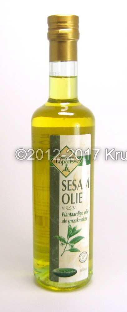 Sesam olie - exclusieve plantaardige sesamzaad olie online kopen