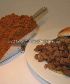 Shoarmakruiden rood zonder zout - zoutloze kruiden voor shoarma kopen