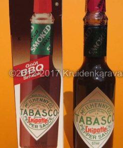 Tabasco Chipotle pepersaus - gerookte jalapeno tabascosaus kopen