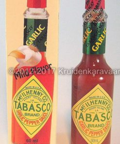 Tabasco Garlic - originele Tabasco knoflook pepersaus kopen