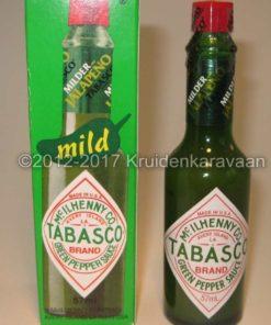 Tabasco groene jalapeno pepersaus online kopen bij Kruidenkaravaan