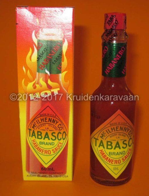 Tabasco Habanero saus - originele extreem hete Tabasco Habanero kopen